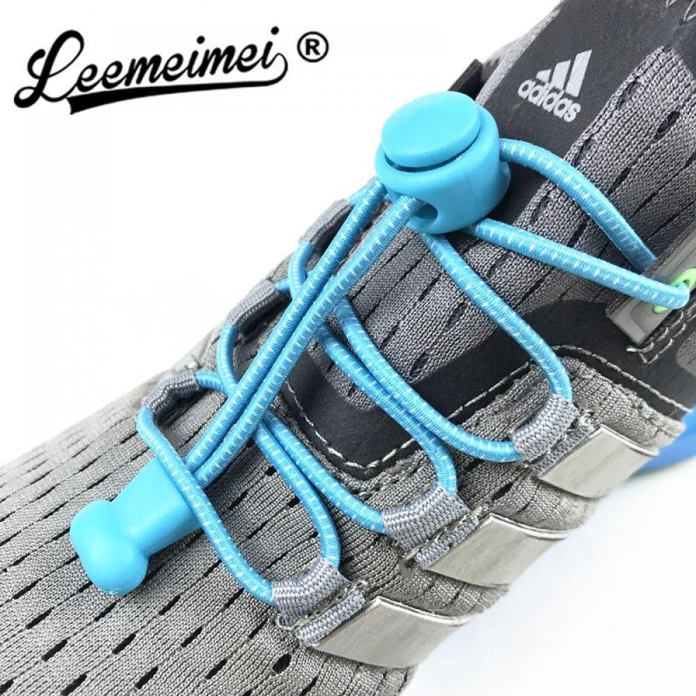 Kids Flat Coloured Shoe Laces Small Shoelaces Black