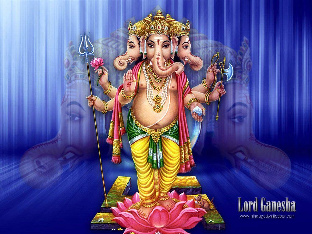Hd wallpaper vinayagar - Free Download Lord Ganesha Wallpapers