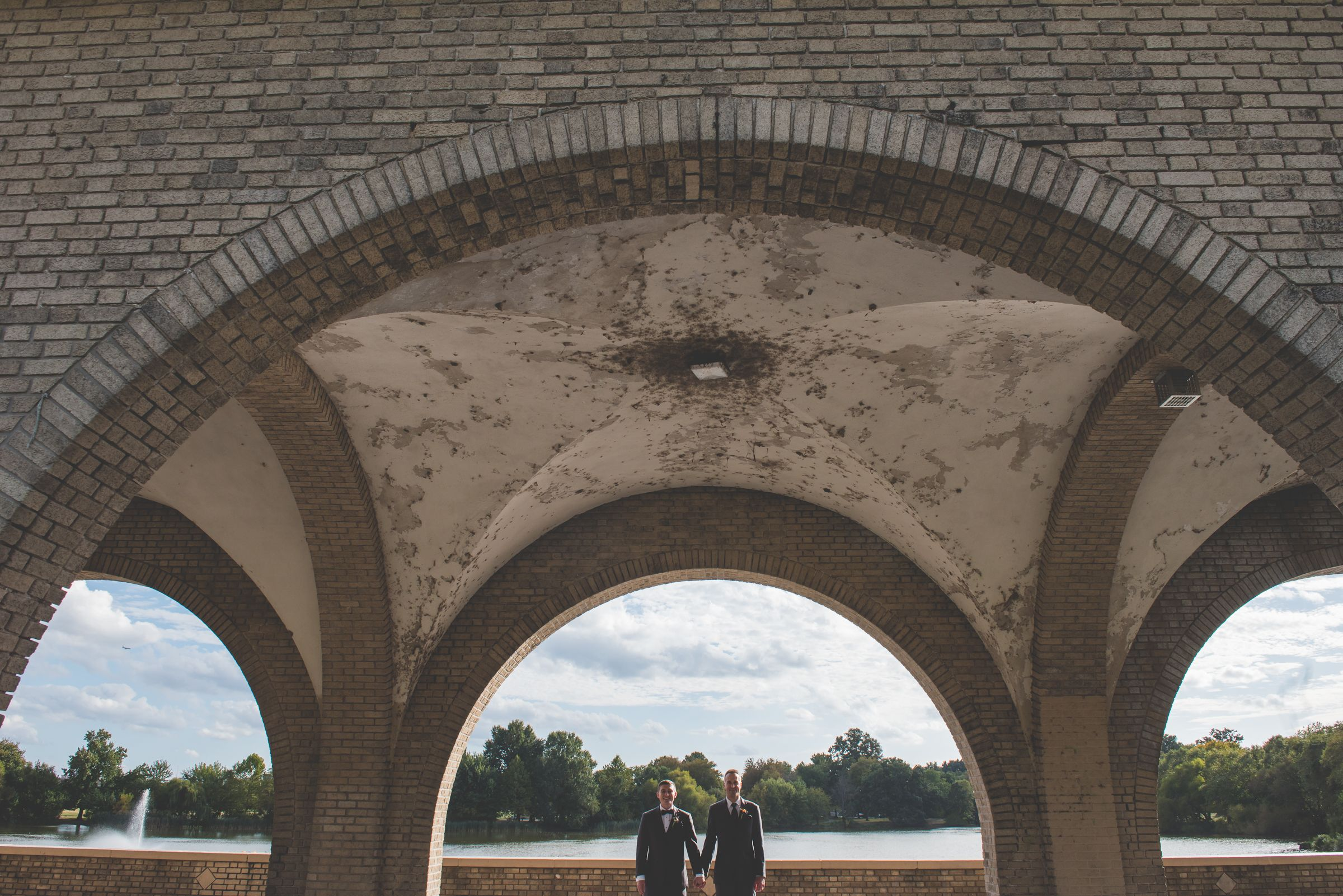 Garrett u joshus same sex wedding at the american swedish historical