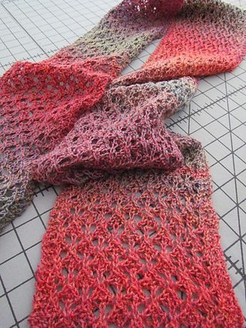 Ravelry: Best Friend Lace Scarf - Free Pattern pattern by Krista ...