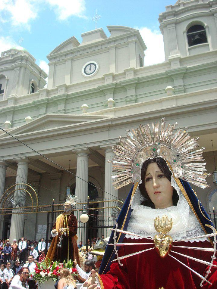 Dolorosa. Iglesia La Dolorosa, San José, Costa Rica.