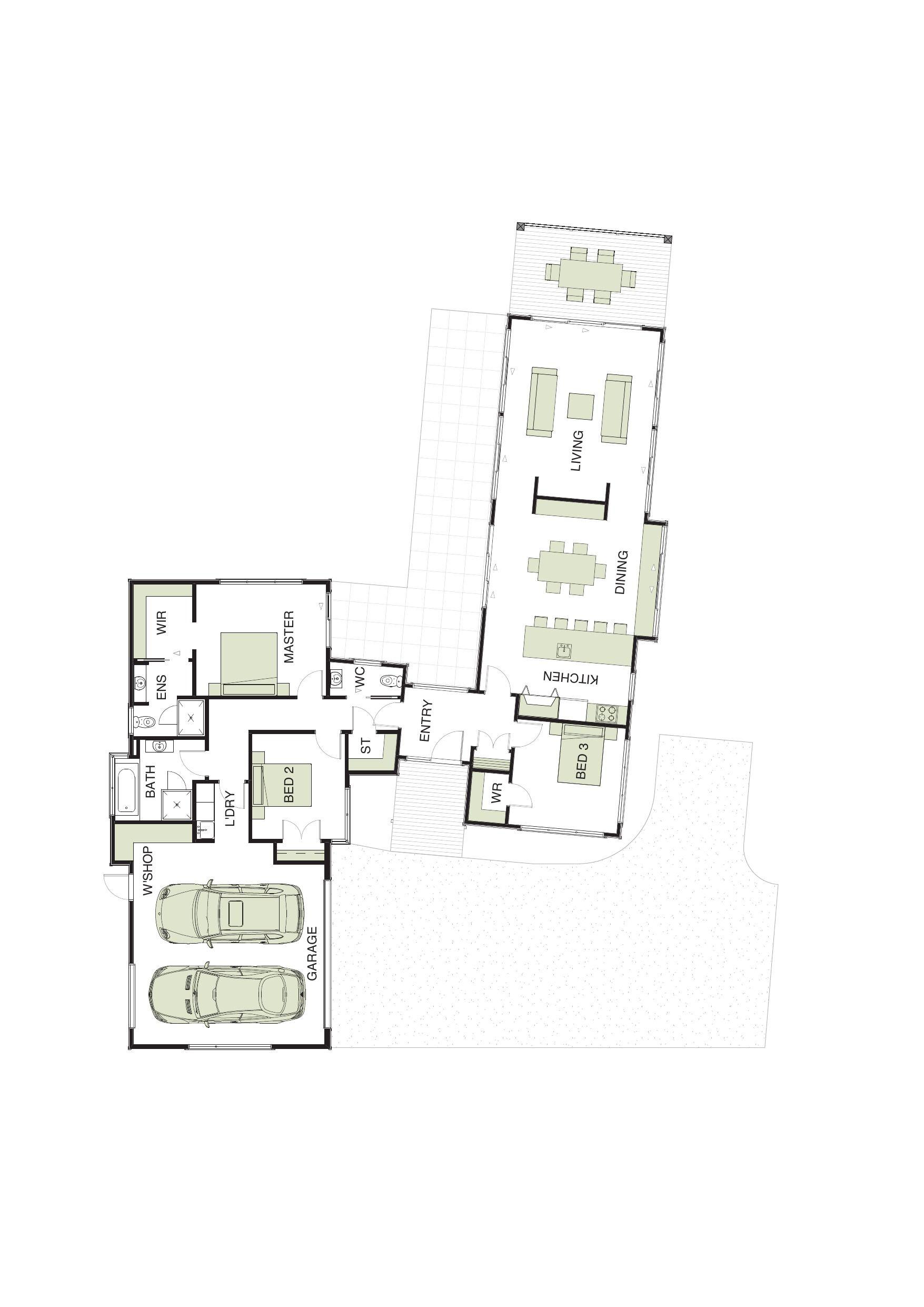 David Reid Homes   Pavilion 4 Specifications, House Plans U0026 Images
