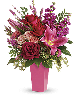 Forever Fuchsia Bouquet Bouquet In 2020 Beautiful Flower Arrangements Flower Delivery Order Flowers Online