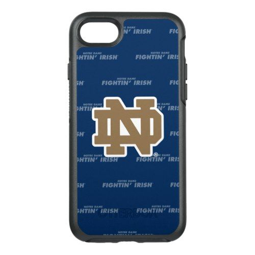 best sneakers c7e78 3be34 Notre Dame Pattern OtterBox Symmetry iPhone 7 Case | iPhone Cases ...