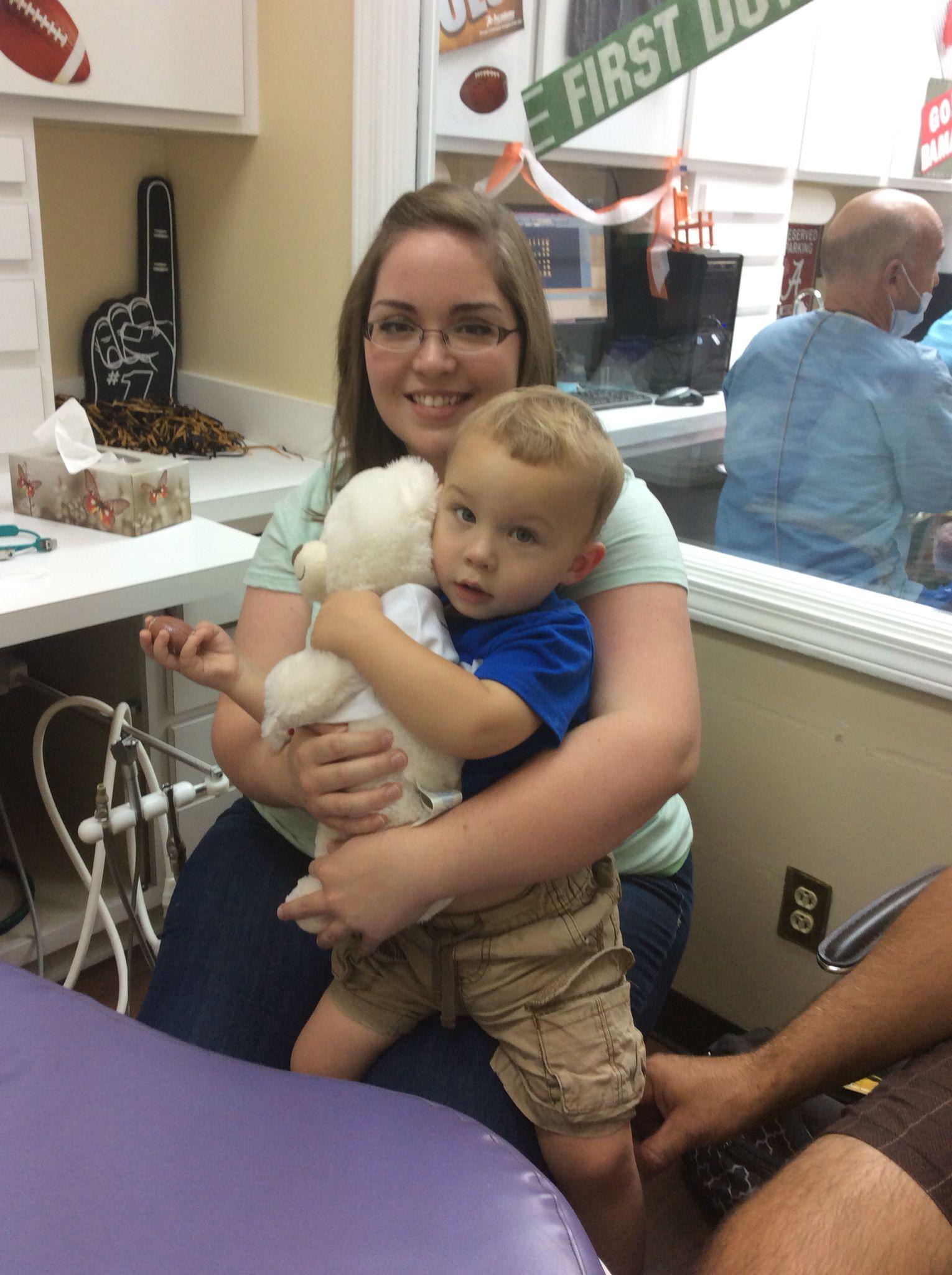 What a fantastic first visit sweet boy!! Pediatric