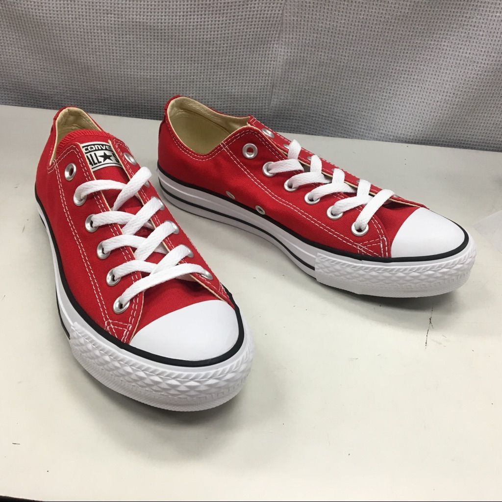red converse low tops mens - 51% OFF