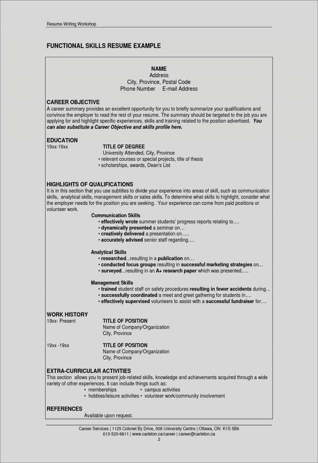 Resume For Restaurant Job Luxury Guide To Resume Template