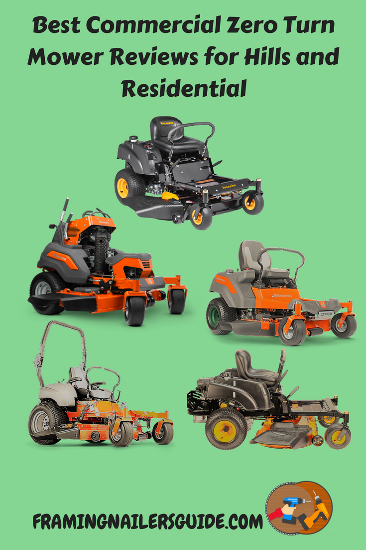 Best Commercial Zero Turn Mower Reviews For Hills And Residential 2018 Read Our Review To Find The Fastest Smallest With Comparison Chart