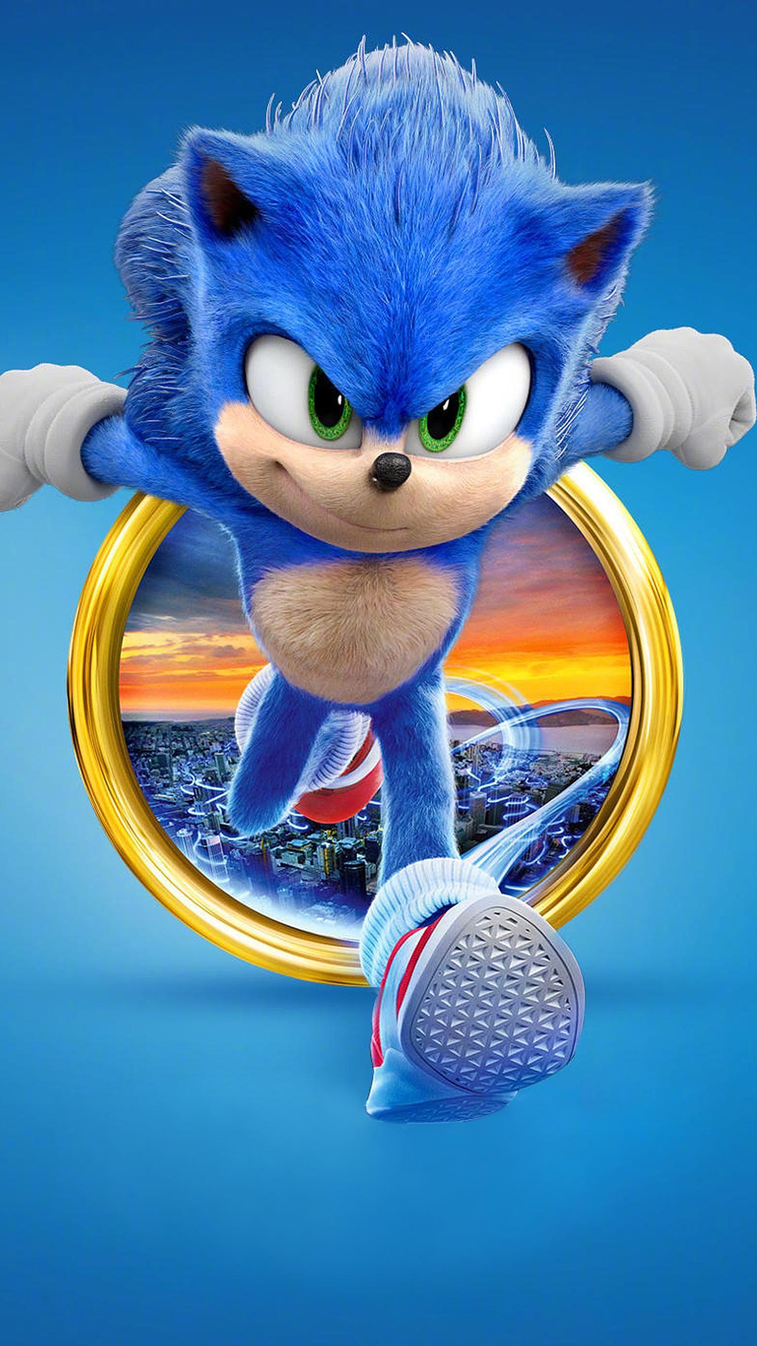 Sonic The Hedgehog 2020 Phone Wallpaper Moviemania Sonic The Hedgehog Sonic Birthday Hedgehog Movie