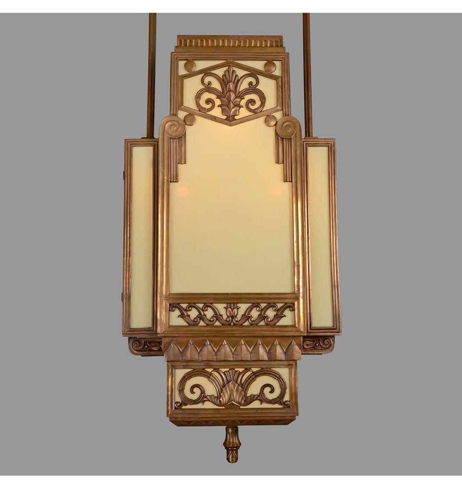 Rejuvenation Deco: We\'ve restored a pair of these gorgeous Art Deco ...