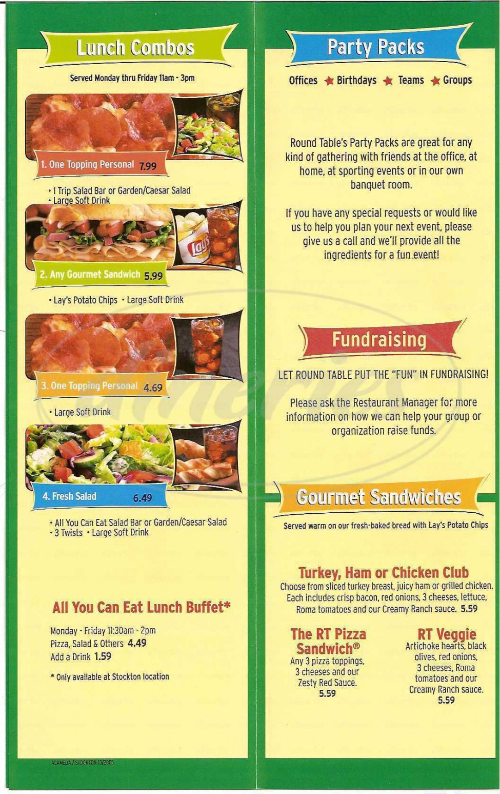 Round Table Lunch Buffet Price Latest Ideas