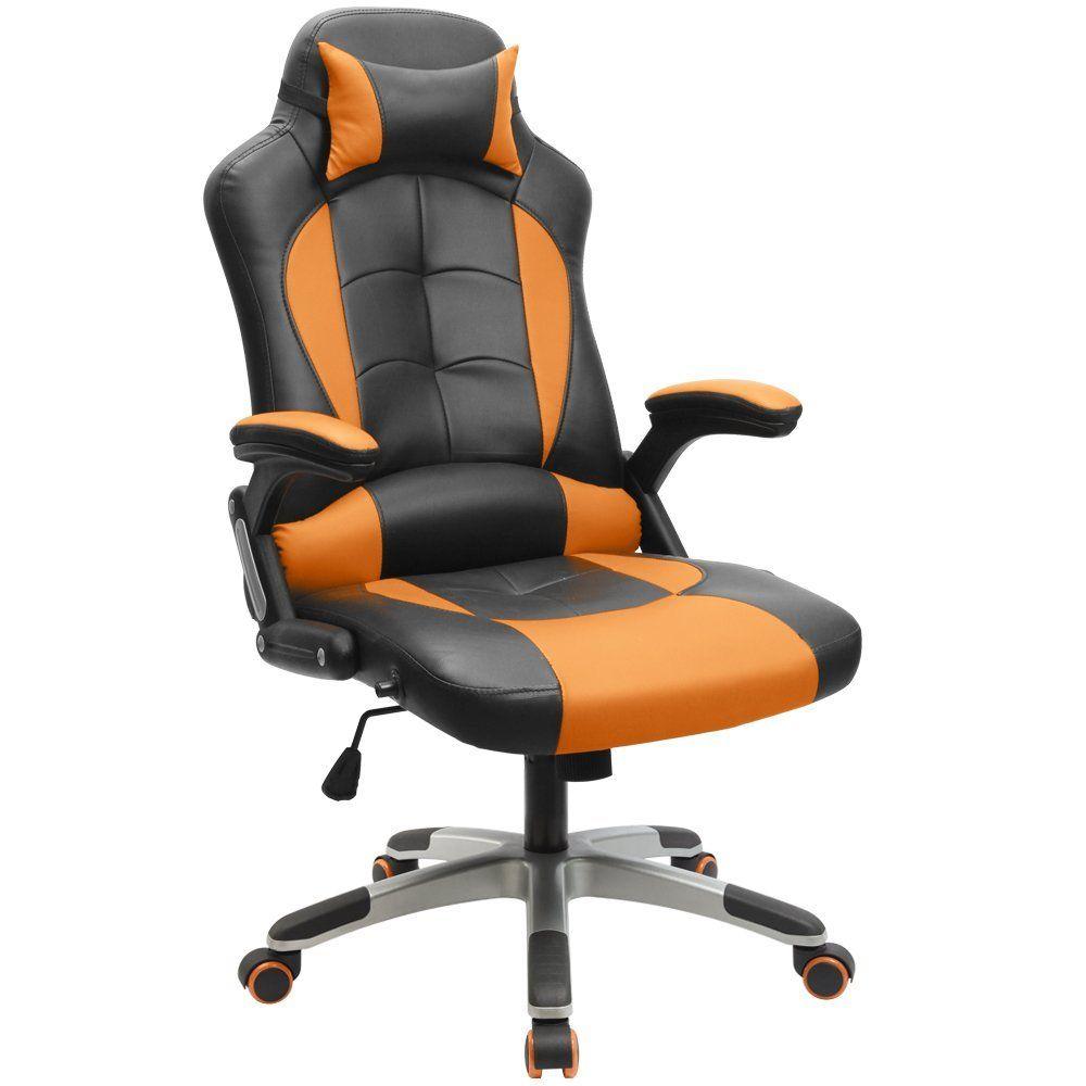 Furmax Gaming Chair Executive Racing Style Bucket Seat Pu