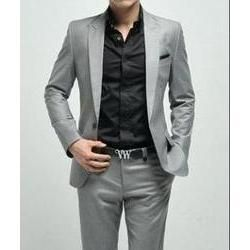 Shiny Grey Suit - Armani I think maybe some cutie of mine would ...