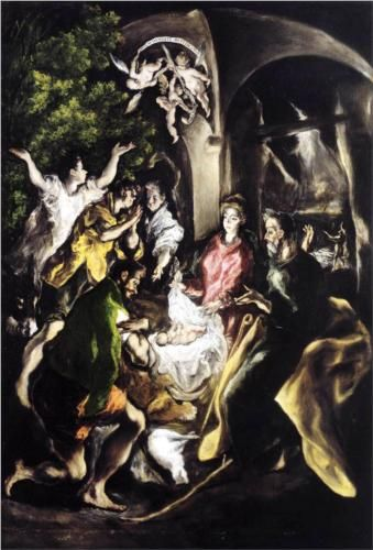 Adoration of the Shepherds - El Greco