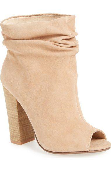 85c45314284 Kristin Cavallari  Laurel  Peep Toe Bootie (Women) available at  Nordstrom