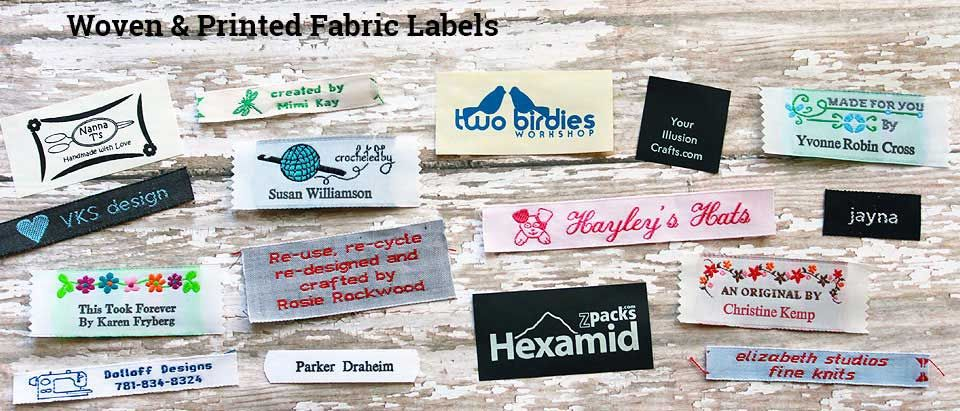 Clothing labels sewing labels woven labels personalized ribbons iron on labels personalized gift wrap namemaker com name maker inc