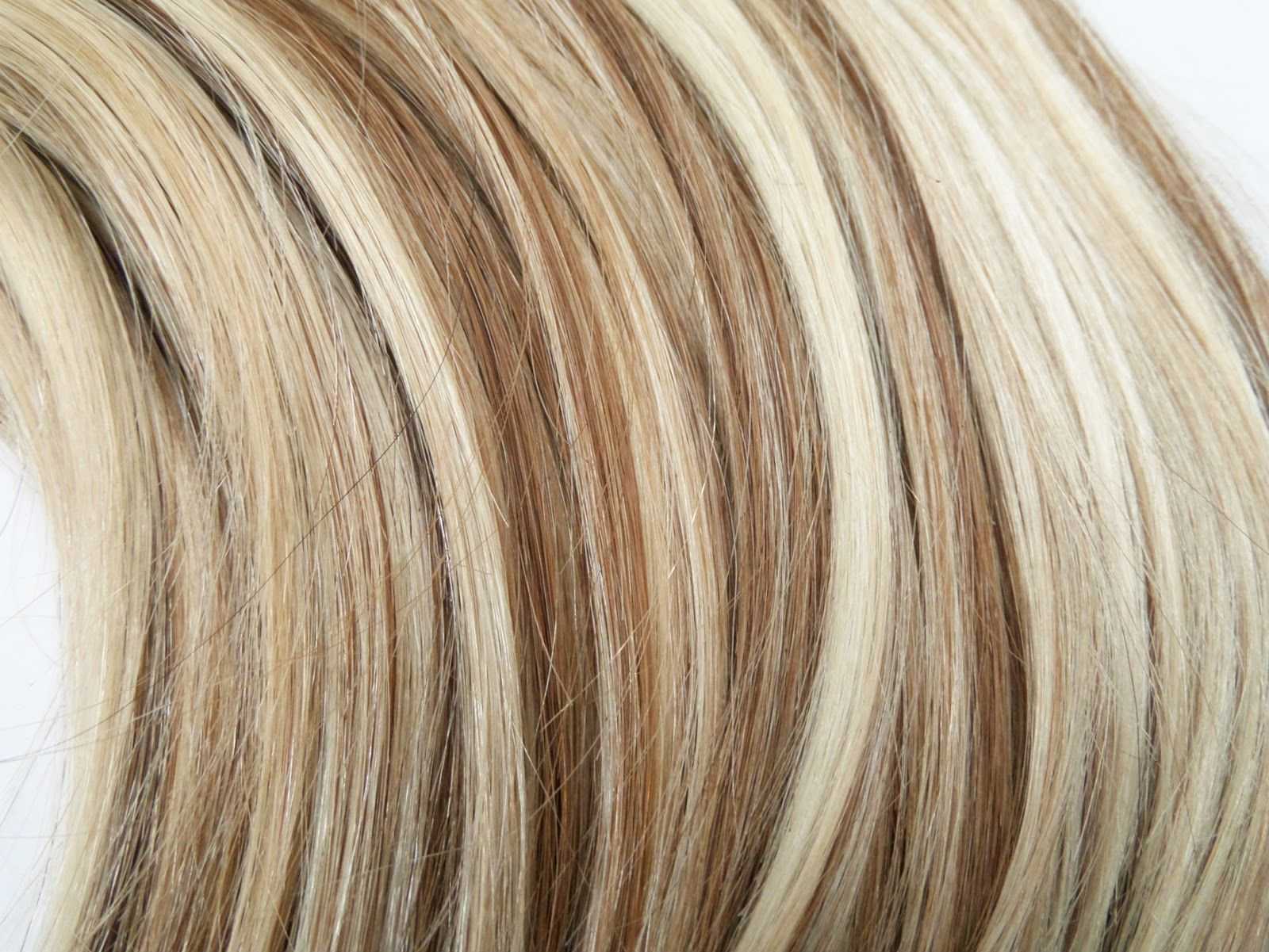 Dirty Looks Hair Extensions Toasted Highlights Capelli Corti