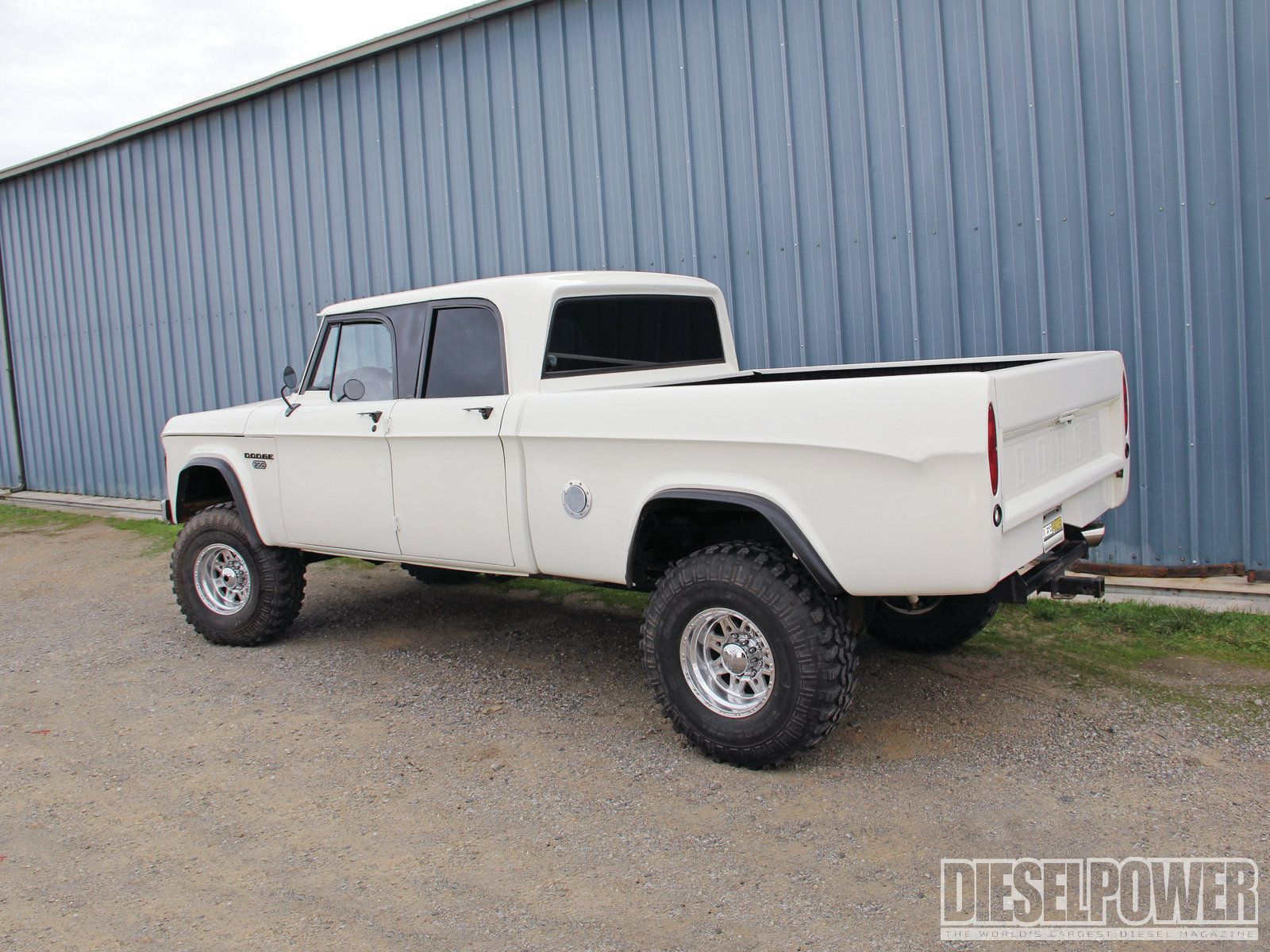 Cummins Powered 1968 Dodge Crew Cab we had one of these when I was a