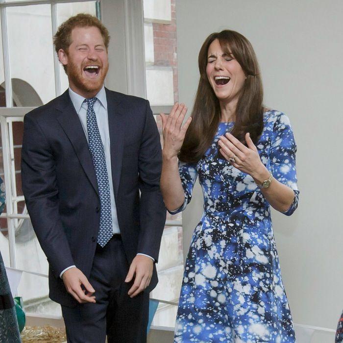 Prince Harry Kate Middleton October 16 2016