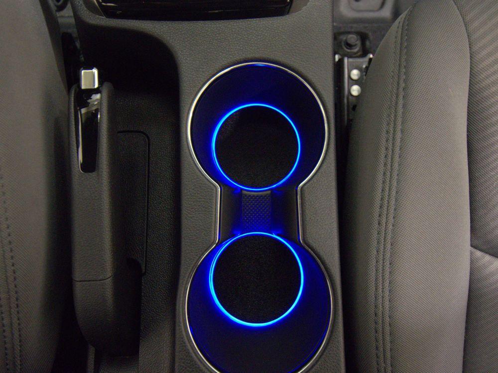 led cup holder lights blue leds fits 2011 2015 hyundai elantra custom mod cup holders. Black Bedroom Furniture Sets. Home Design Ideas