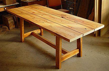 Lubo Brezina Old School 2 X 4 Table 2x4 Furniture 2x4 Furniture Plans Furniture Making