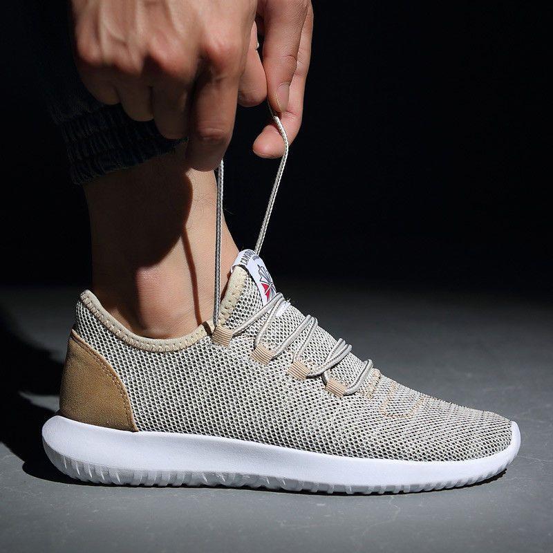 fc1e88e6b0308 Men Sport Shoes 2018 Fashion Sneakers Men Shoes Plus Size Light Mesh   qixing  BaseballShoes  shoes  sneaker  sneakerheads  sneakernews   streetwear  sneakers ...