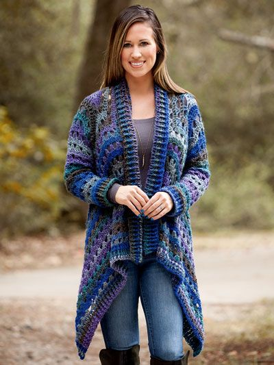 Our Favorite Crochet Sweater Patterns Euphoria Cardi Crochet Pattern