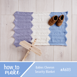 A603 Babies Chevron Security Blanket #securityblankets