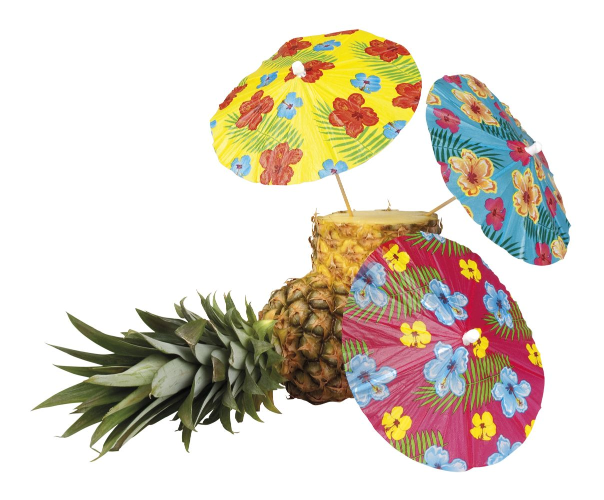 Havaiji-juhlat, sateenvarjokoriste