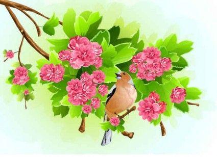 Green leaf pink flowers background fina bakgrunder pinterest green leaf pink flowers background mightylinksfo