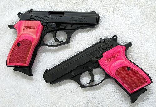 Hottest Pink Handguns ι══ﺤ #Prepper