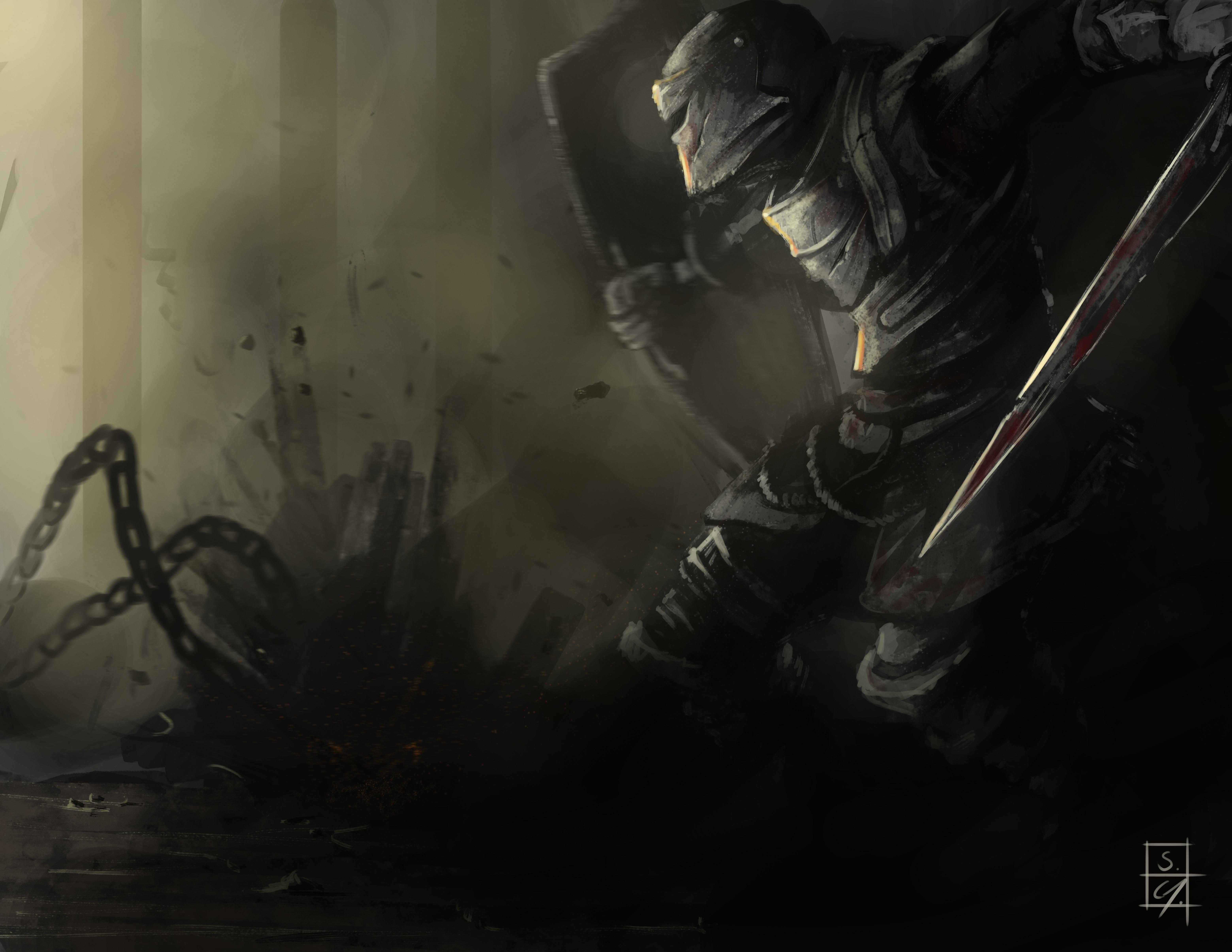 Dark Souls Fanart Artwoork Dark Souls Dark Souls Art Dark