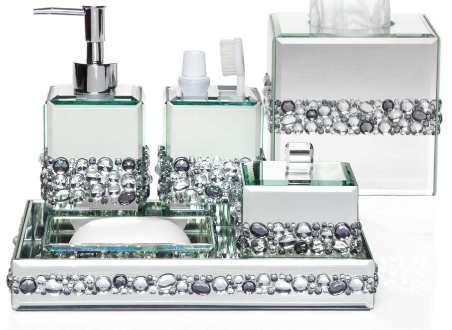 Ricci Vanity Collection   Vanity Set U0026 Boutique Box | Bathroom Accessories  | Z Gallerie