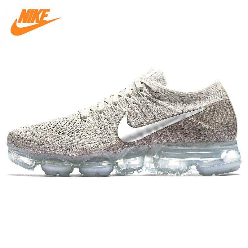 92d4f8c7 Купить товар Nike Air Vapormax Flyknit Для женщин кроссовки, оригинальные  спортивные уличные кроссовки, серый