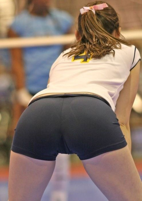 Fucked in volleyball uniform