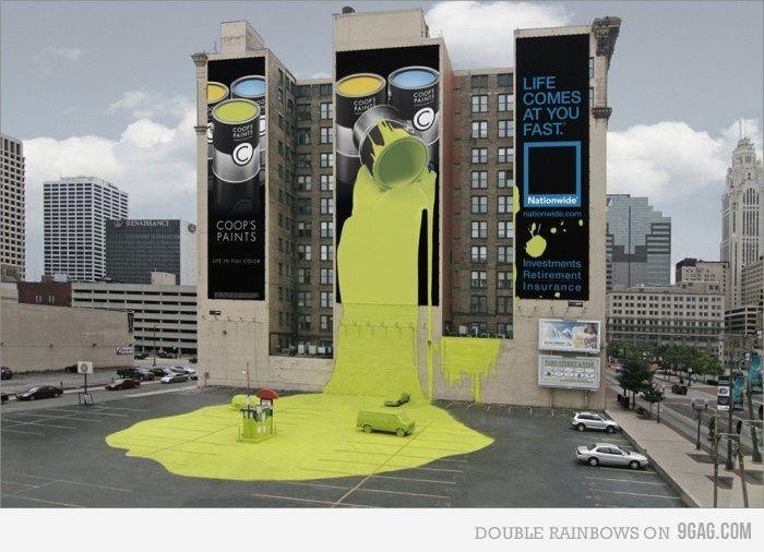 Creative Insurance Ad Billboard Advertising Best Ads Street