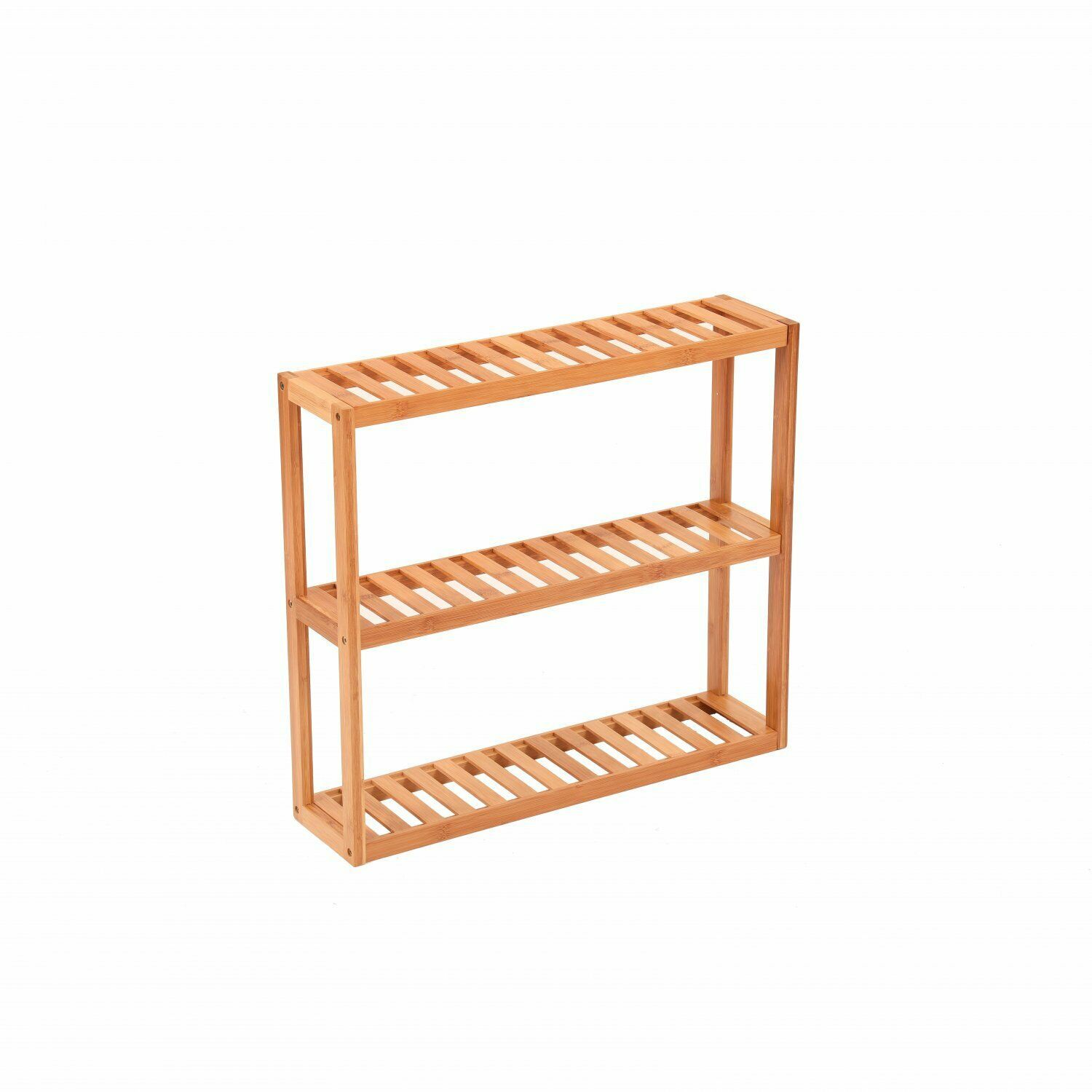 NEW! 3 Tier Wooden Bamboo Bathroom Kitchen Wall Mounted