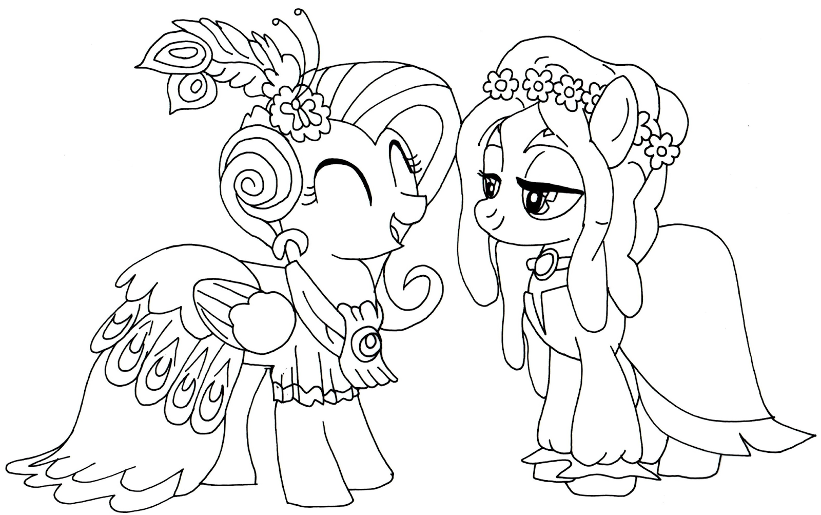 Free Printable My Little Pony Coloring Pages January