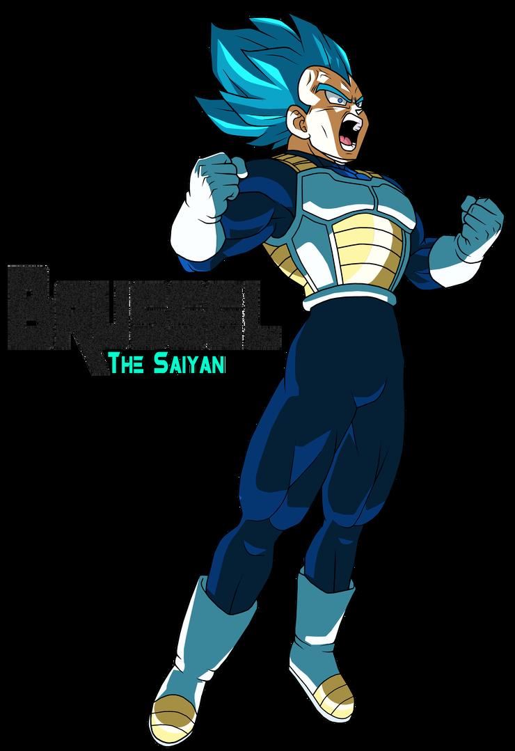 Super Saiyan Blue Vegeta New Movie 2018 By Brusselthesaiyan Super Saiyan Blue Anime Dragon Ball Dragon Ball Artwork