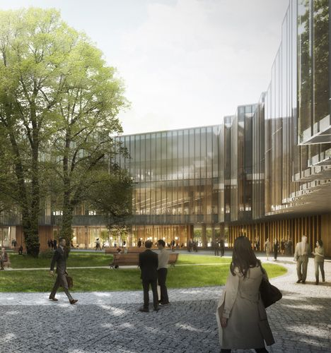 Nursing Home Design Standards Uk: Herzog & De Meuron Designs Pharmaceutical Research Centre