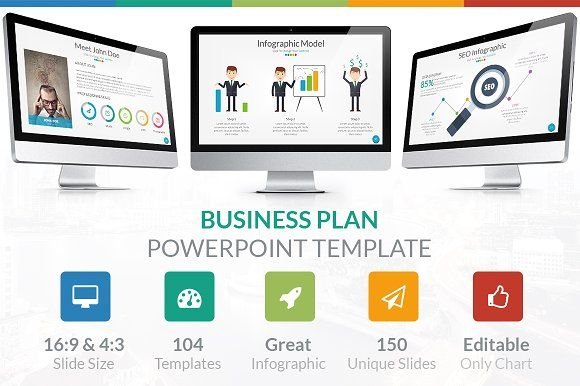 business plan - powerpoint templategrastudios on, Powerpoint templates