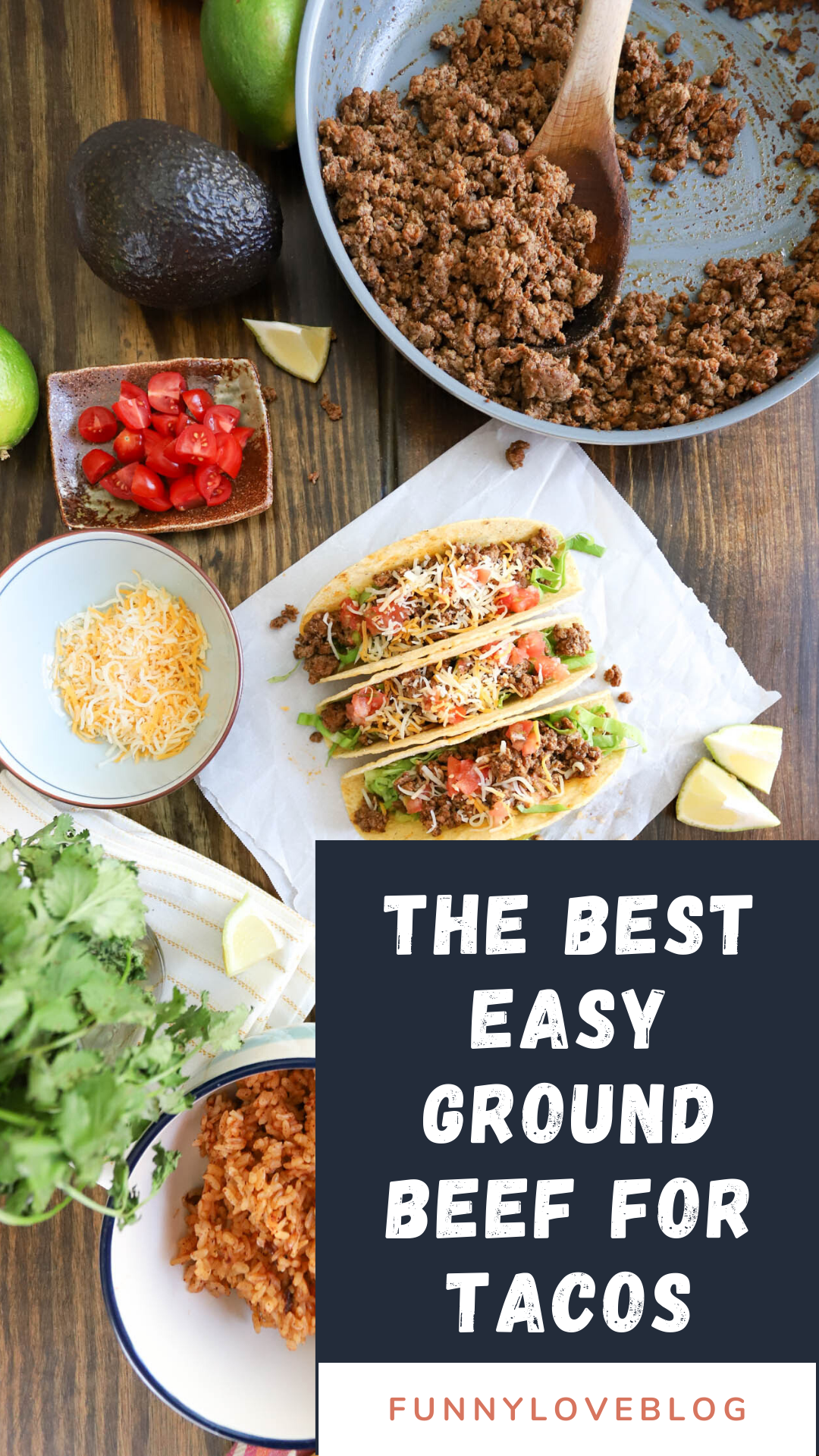 Easy Ground Beef For Tacos Recipe In 2020 Ground Beef Tacos Mexican Food Recipes Easy Healthy Dessert Recipes Easy