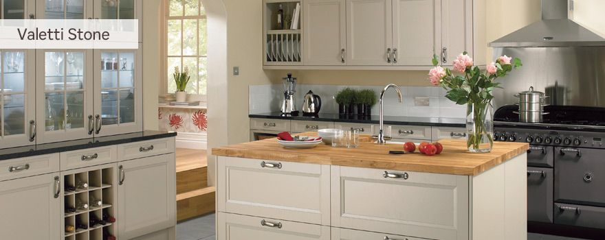 Buy a valetti stone kitchen from homebase helping to make for Home base kitchen units