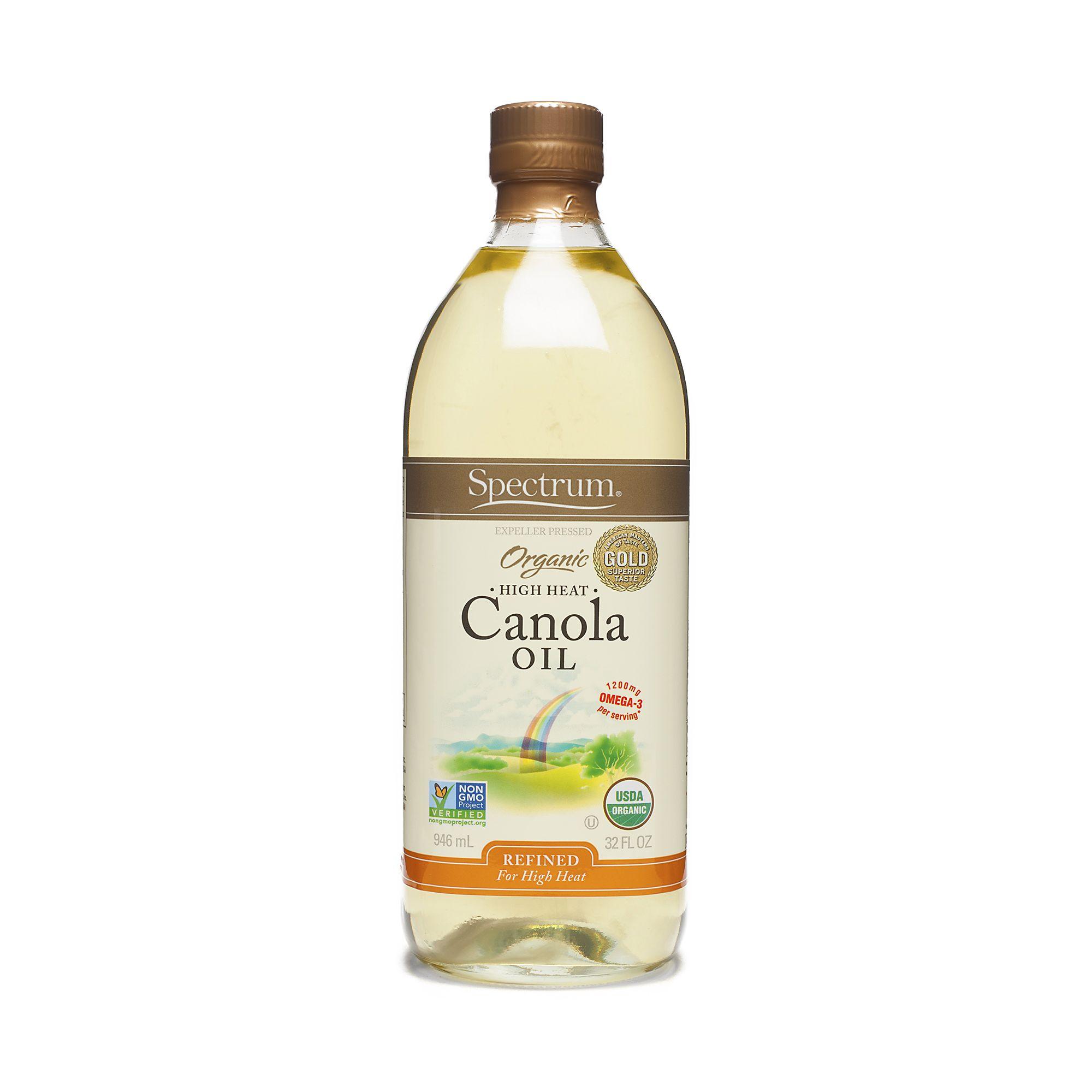 Spectrum Naturals Organic Refined Canola Oil | Yummy