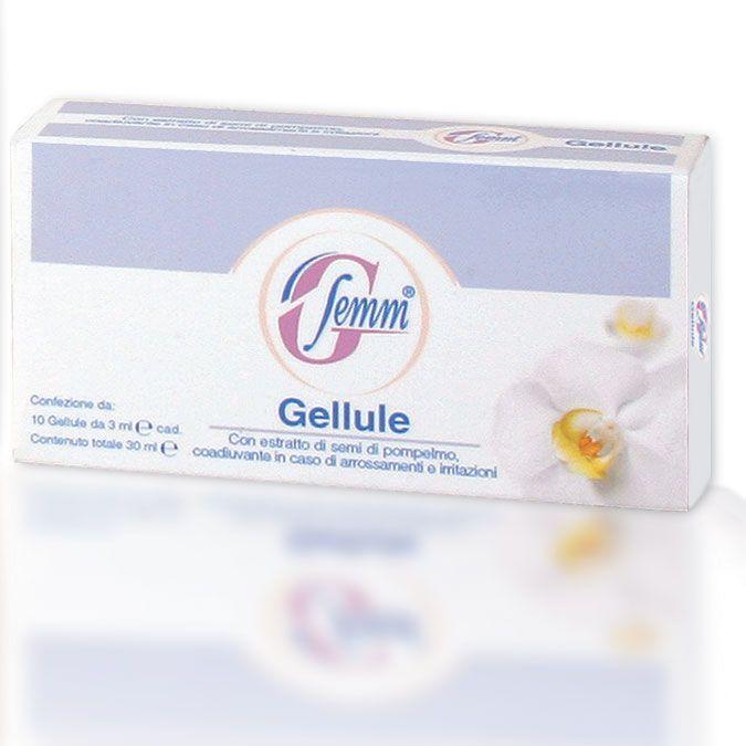 Le gellule G-Femm favoriscono il mantenimento della corretta funzionalità dell'apparato genitale femminile, contribuendo a contrastare le infiammazioni e le irritazioni delle mucose vaginali.