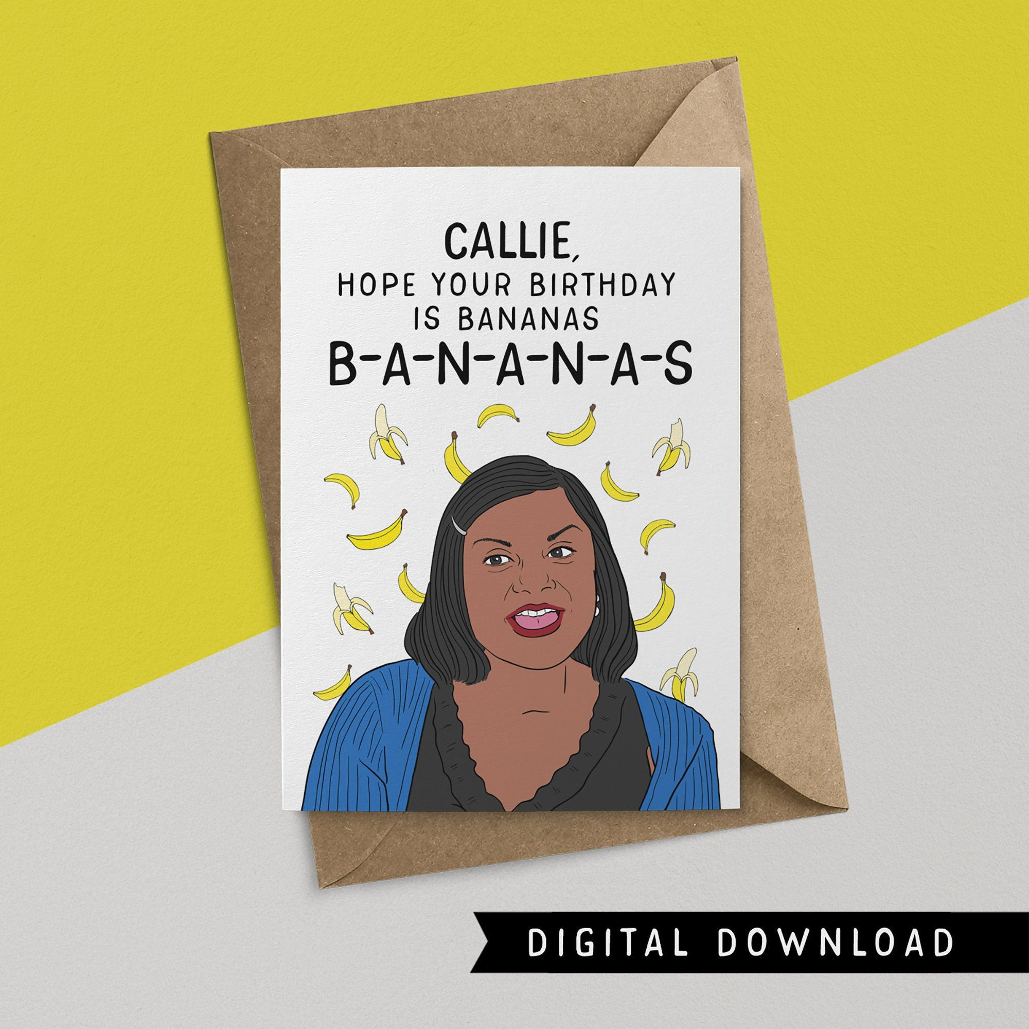 Buy 1 Get 1 Free Printable Birthday Card Instant Download Etsy In 2021 Office Cards Birthday Card Printable Free Printable Birthday Cards