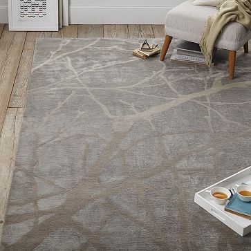 Winter Branches Rug Floor Rugs Rugs Contemporary Rugs