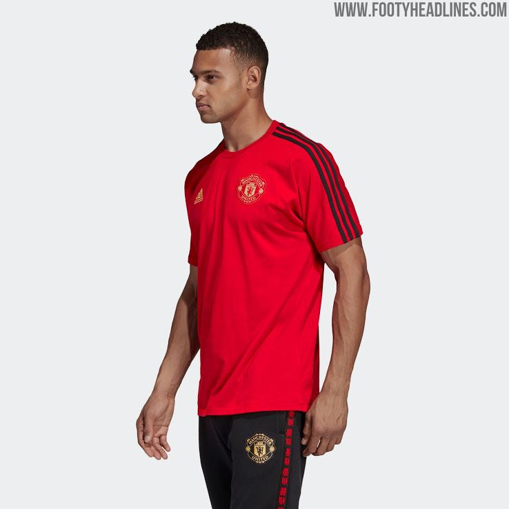 Adidas Manchester United Chinese New Year Collection Released Mens Tops Collection Mens Polo Shirts