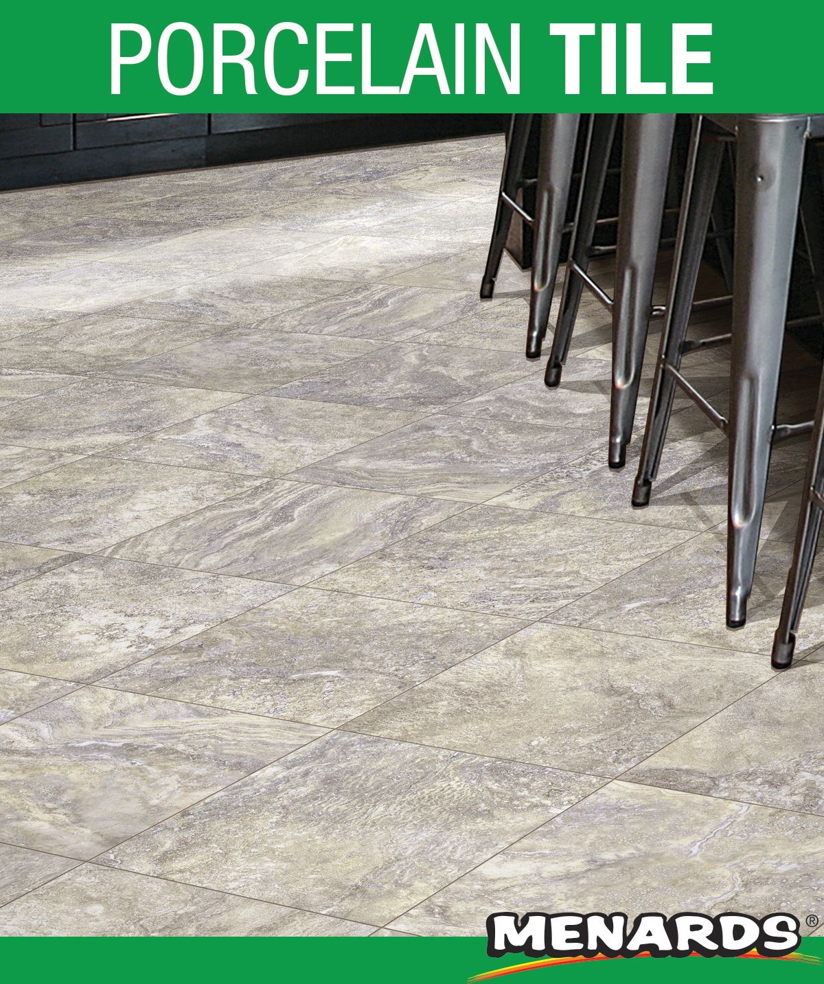 Florim Usa Millennium Grey 12 X 12 Porcelain Floor And Wall Tile In 2020 Porcelain Flooring Gray Porcelain Tile Porcelain Tile