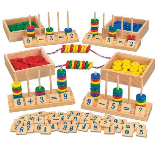 Montessori Wooden Toy Homeschool Teaching Aid Family Activity Kids Toy